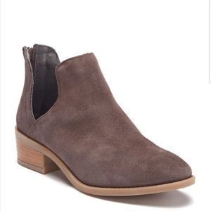 New Steve Madden Laramie Cut Out Suede Boots